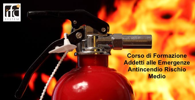 corso antincendio catania